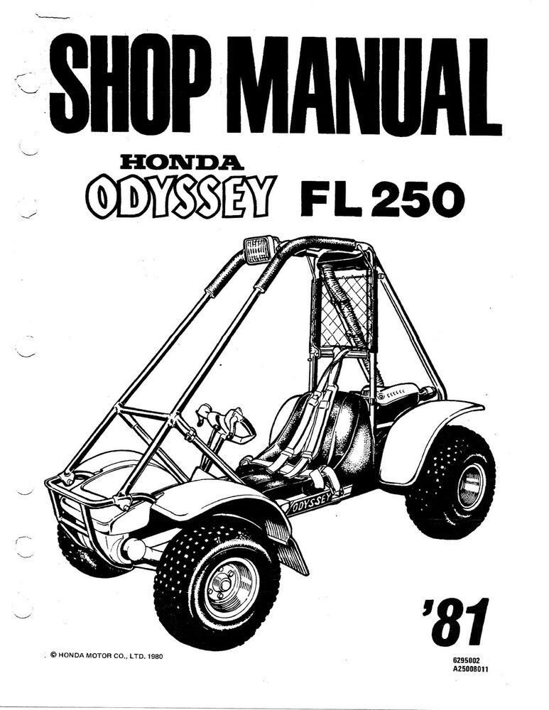 2001 honda odyssey repair manual