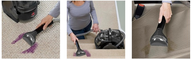 hoover spotless carpet and upholstery cleaner manual