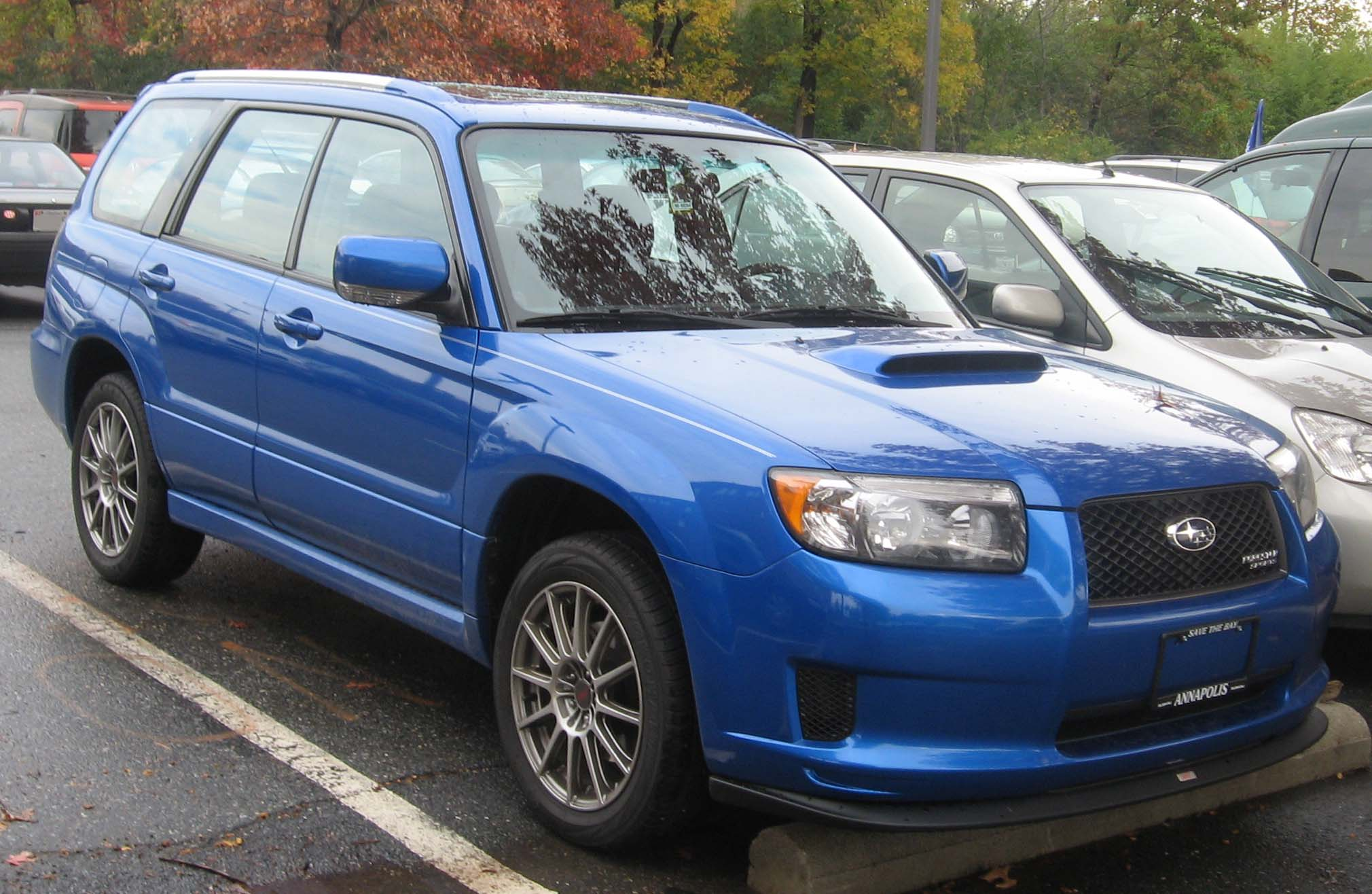 2008 subaru forester service manual