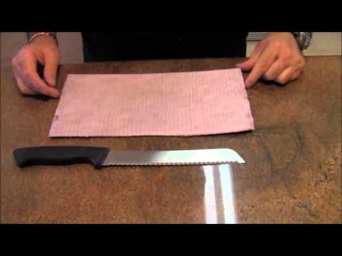 how to manually sharpen a knife