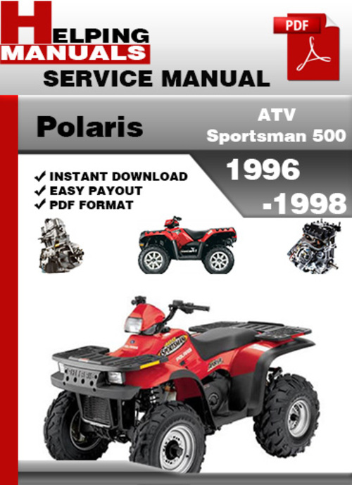 1998 polaris sportsman 500 manual