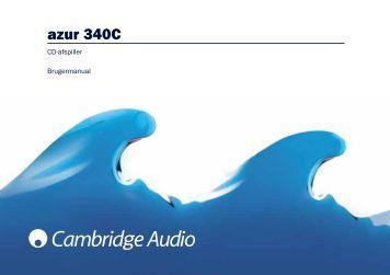 cambridge audio azur 540r manual