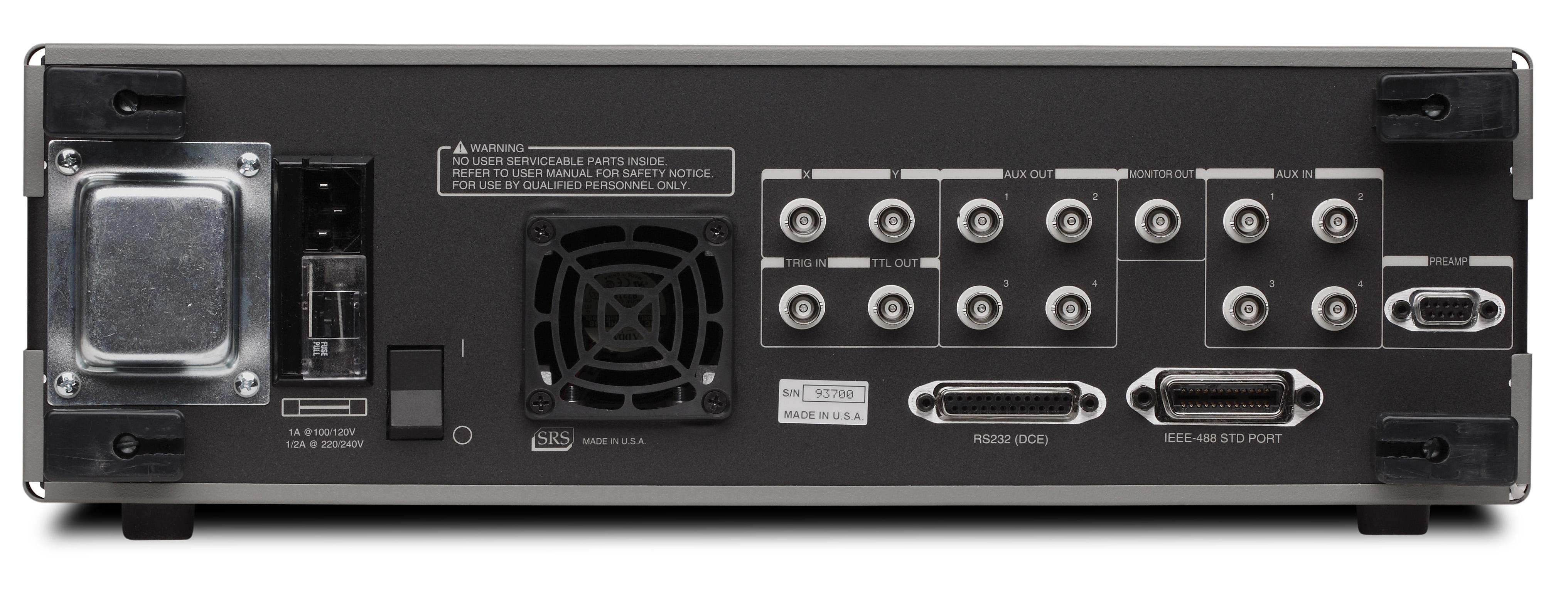srs lock in amplifier manual