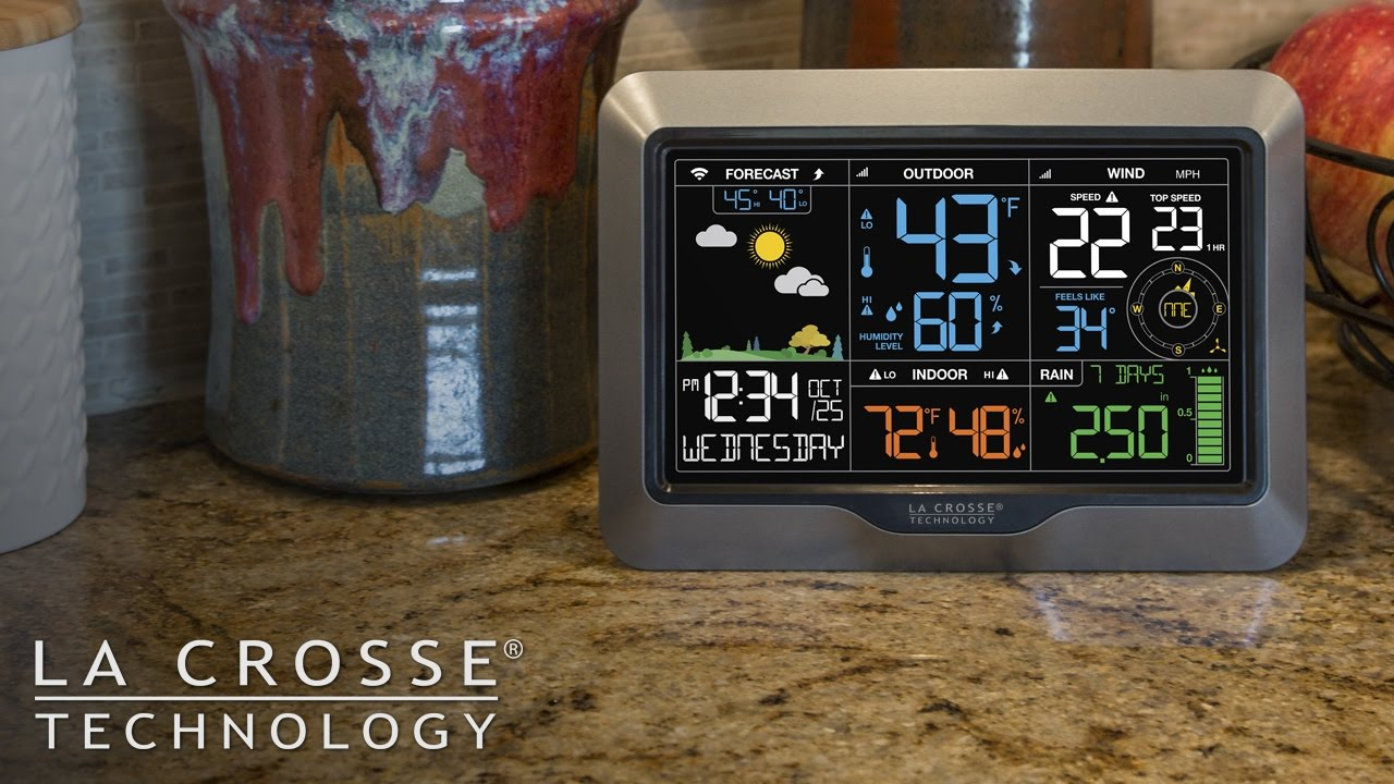 la crosse weather station manual