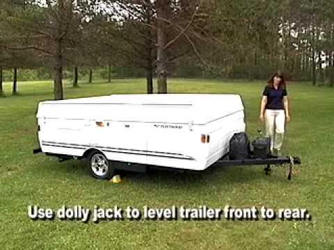 coleman fleetwood pop up camper manual