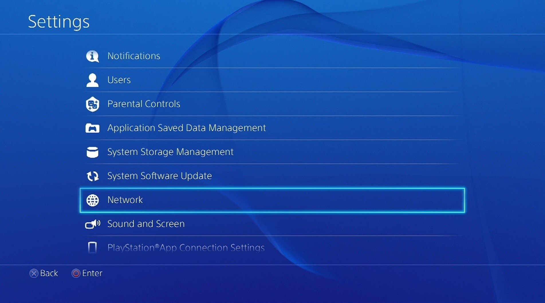 how to manually setup internet on ps4
