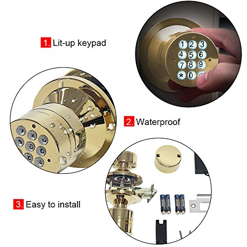 signstek keyless digital electronic entry manual