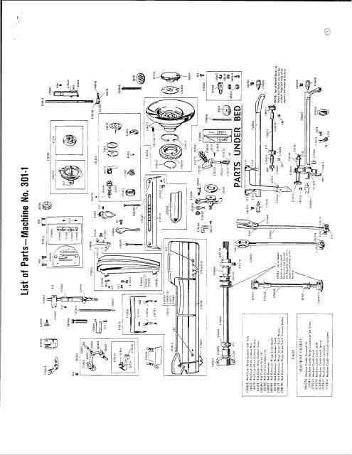 singer sewing machine 301a manual