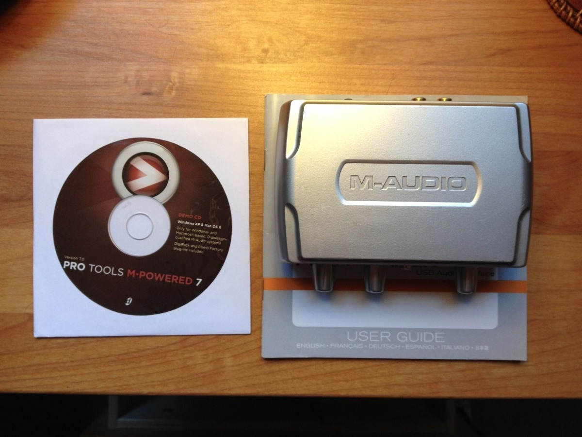 m audio fast track 2 manual