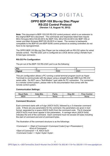 oppo bdp 83 service manual