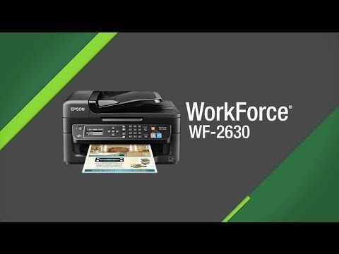 epson workforce wf 2630 manual