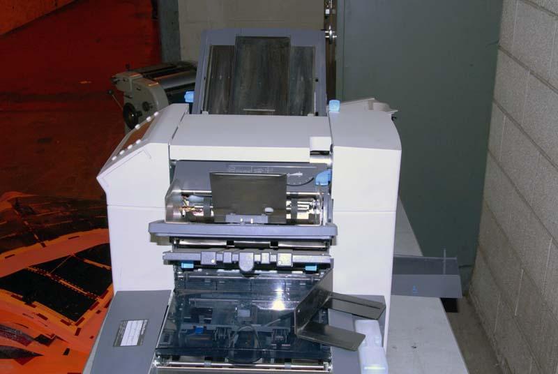 pitney bowes folding machine manual