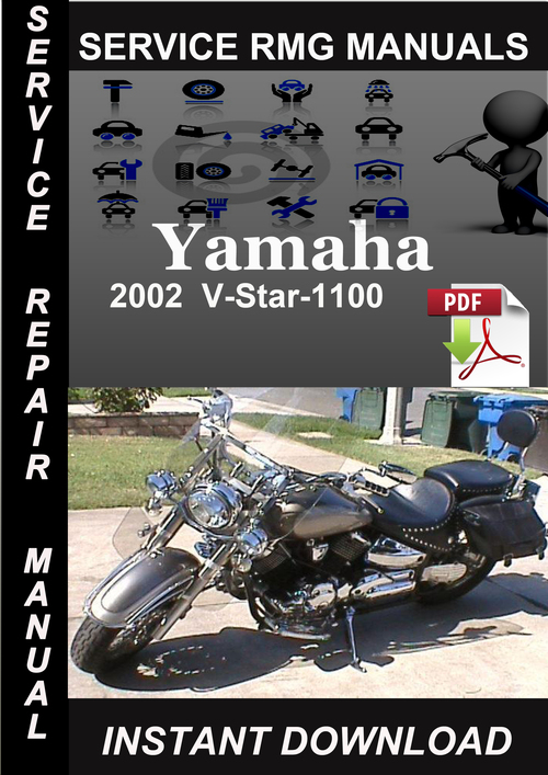 2002 yamaha v star 1100 manual
