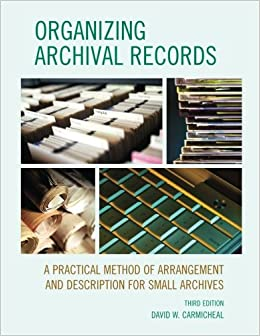 manual for the arrangement and description of archives