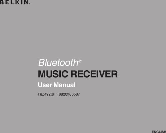 belkin bluetooth music receiver manual