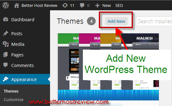 how to manually install a wordpress theme