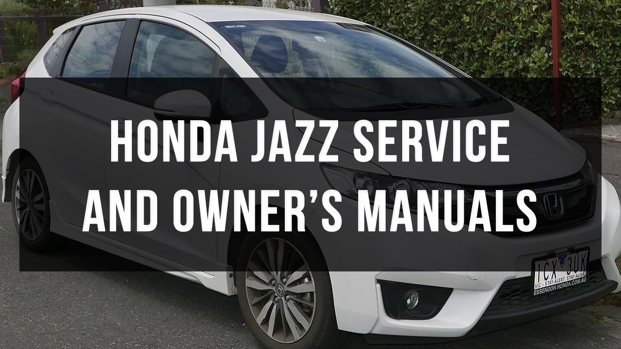 honda jazz service manual free download