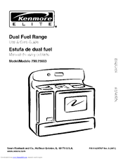 kenmore self cleaning oven instructions manual