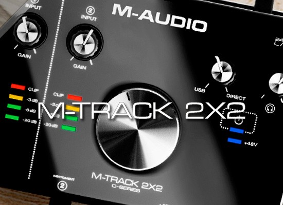 m audio m track 2x2 manual