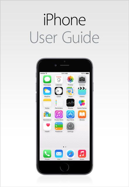 iphone 5s manual and user guide