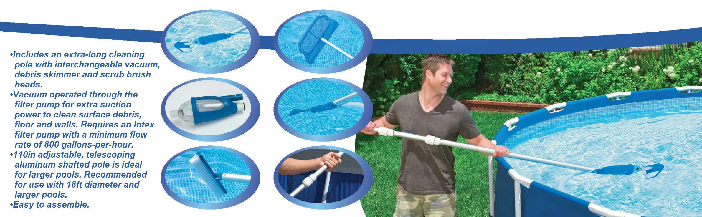 intex deluxe pool maintenance kit manual