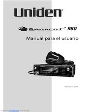 uniden 980 ssb service manual