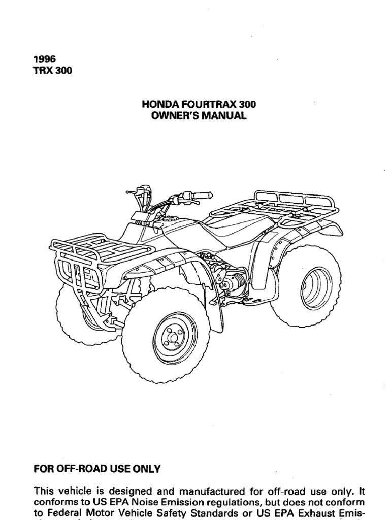 honda trx 500 service manual free download