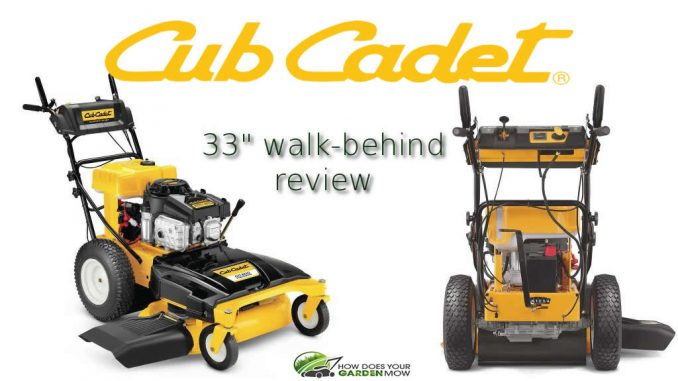 cub cadet 33 inch walk behind mower manual