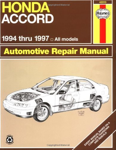 1999 honda accord parts manual