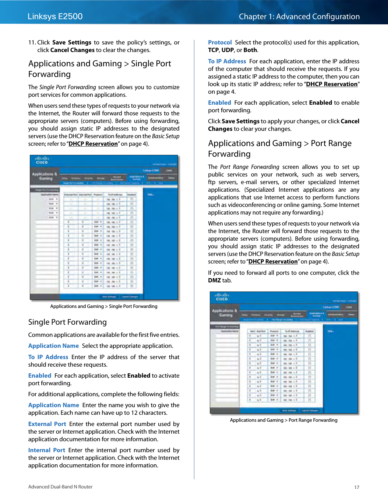 cisco linksys e2500 manual pdf