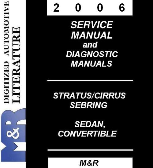 2006 chrysler sebring repair manual free