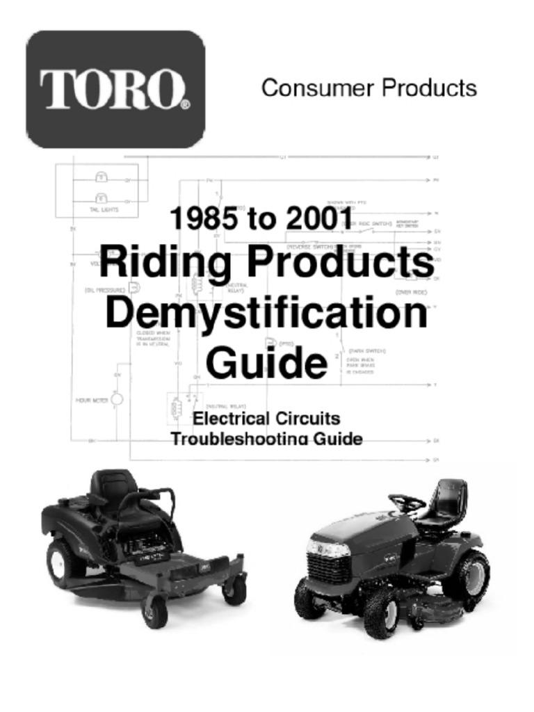 toro wheel horse 10 32 manual