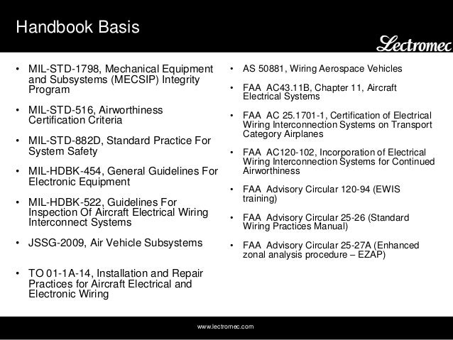 faa standard wiring practices manual
