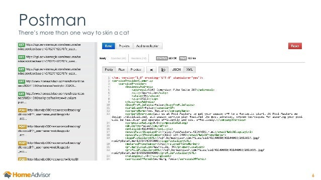 how to test rest api manually
