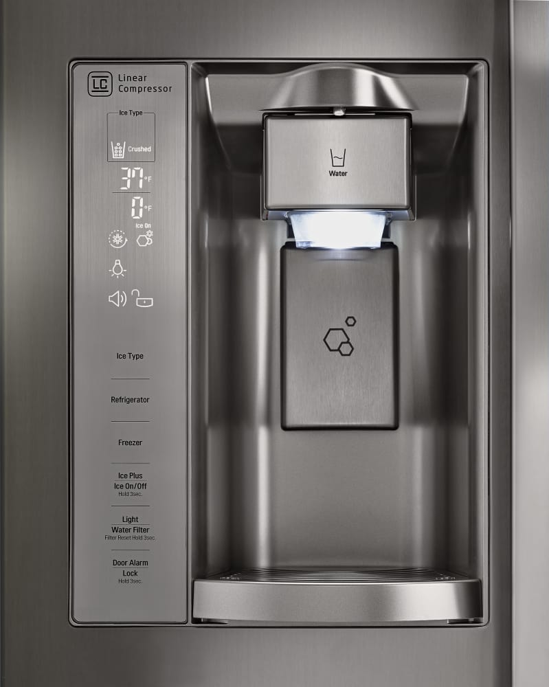 garrison water dispenser with chilled storage manual