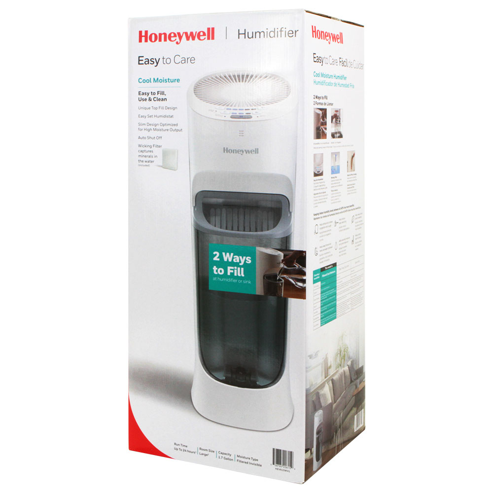 honeywell 2 gallon warm moisture humidifier manual