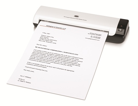 hp scanjet professional 1000 mobile scanner manual