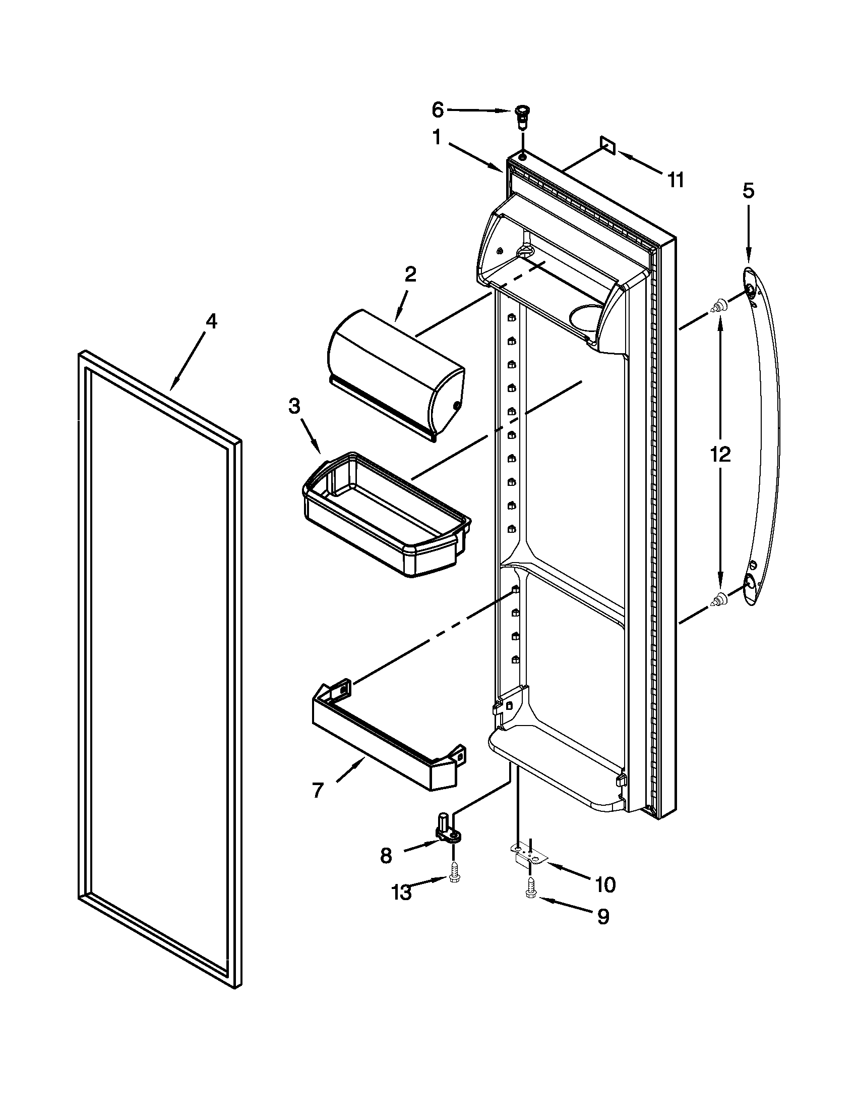 kenmore side by side refrigerator manual