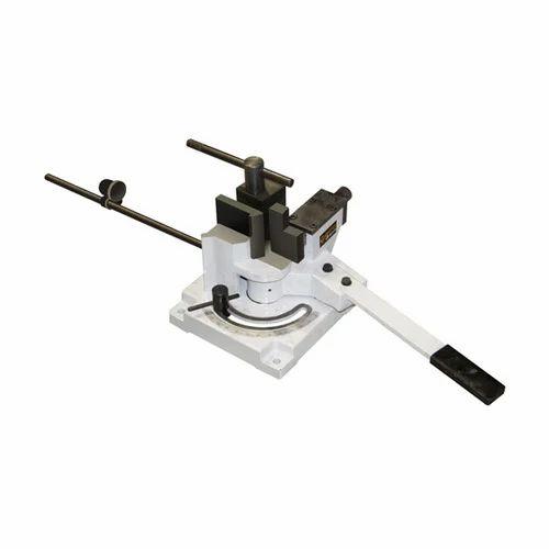 manual flat bar roller machine