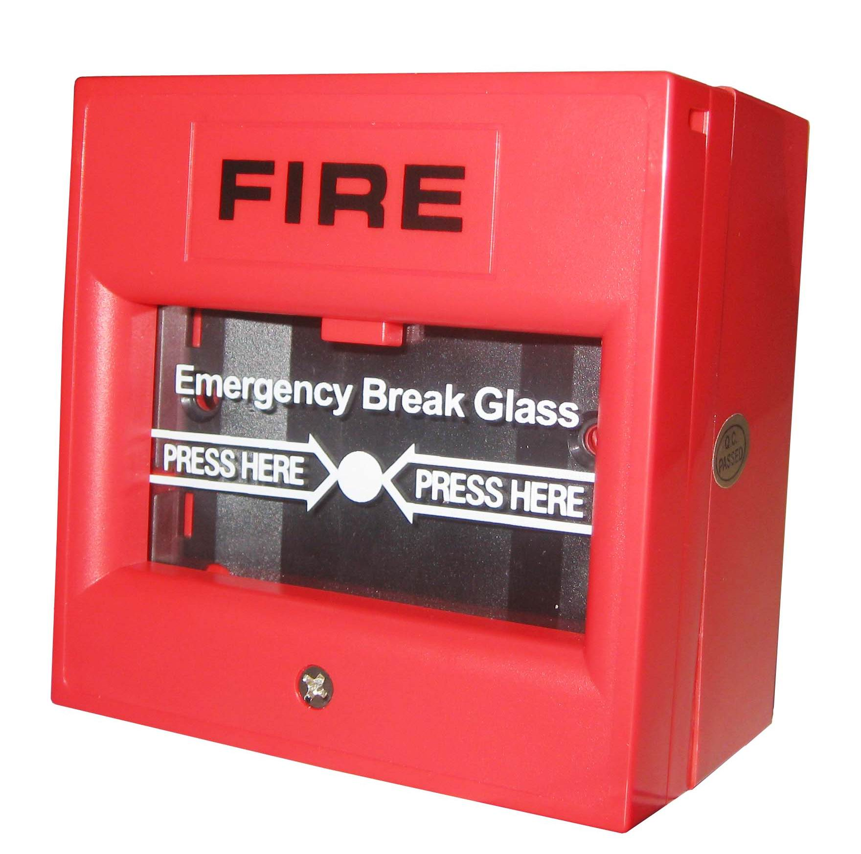 manually operated fire alarm system