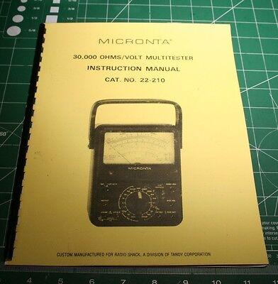 micronta 4003 discriminator detector manual