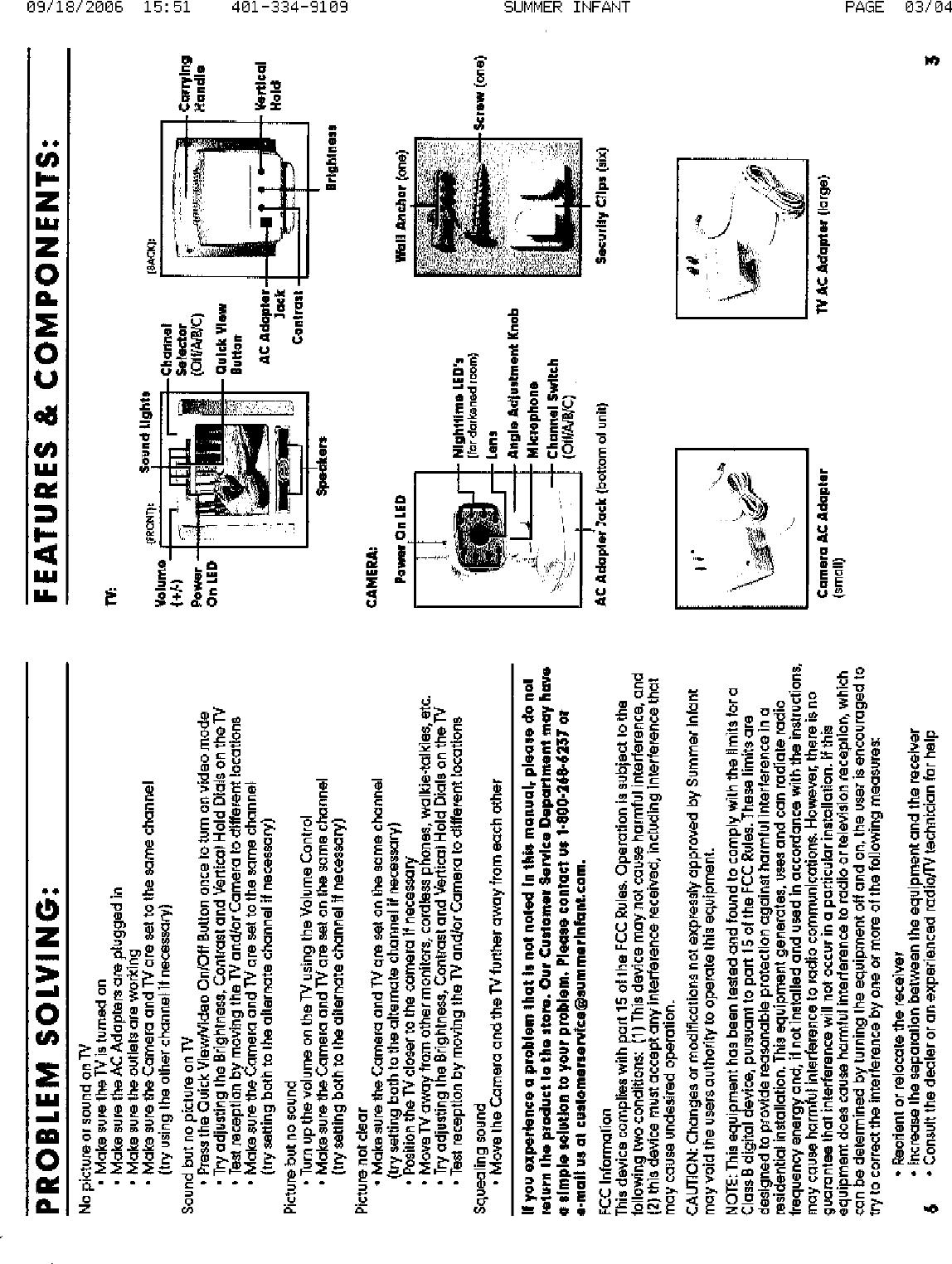 samsung baby monitor user manual