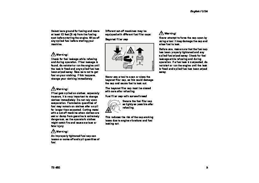 stihl ts 350 service manual